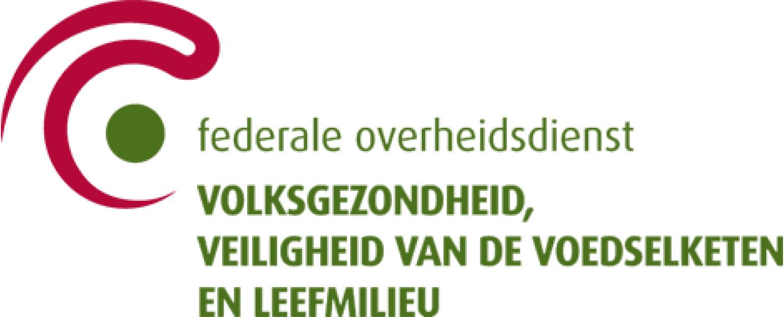 logo fod volksgezondheid veiligheid van de voedselketen en leefmilieu